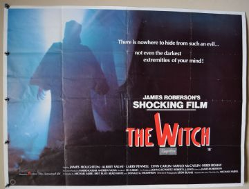 The Witch Horror Poster - UK Quad